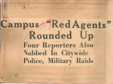 "Campus """"Red Agents"""" Rounded Up Four Reporters Also Nabbed In Citywide..."