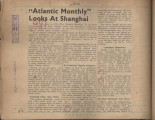 """Atlantic Monthly"" Looks At Shanghai"